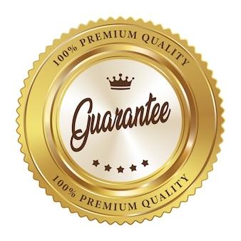 プレミアム品質保証ブラックゴールド光沢メタリック