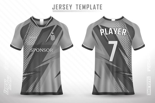 Шаблон футболки премиум-класса с абстрактной текстурой