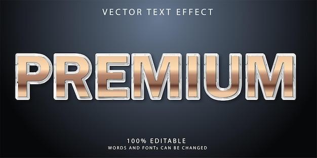 Премиум шаблон стиля текстовых эффектов