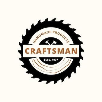 Premium wood industries company logo