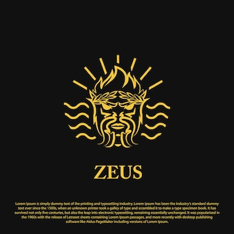 Premium zeus logo design zeus logo with outline style for your business brand and others