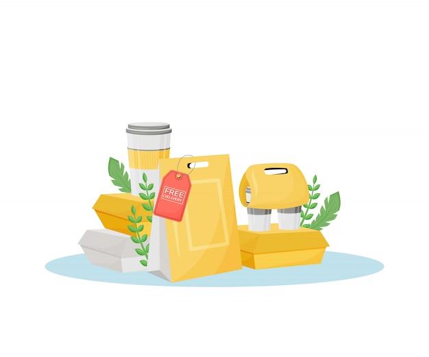 Целевая доставка готовой пищи