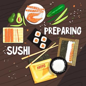 Приготовление суши ингредиенты и техника