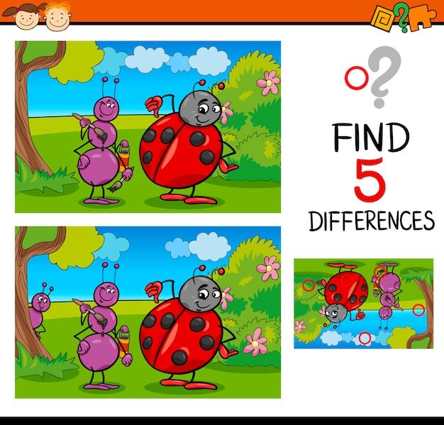 Preschool differences task