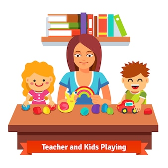 Дошкольное обучение и образование