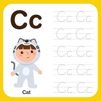 Рабочий лист для дошкольников для отработки мелкой моторики с прописными буквами и каллиграфией.