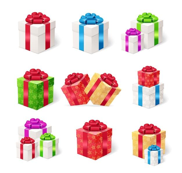선물 상자 격리 설정합니다.
