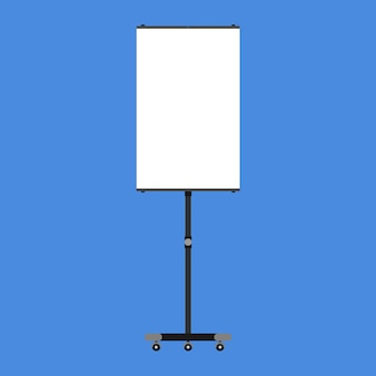 Presentation board illustration