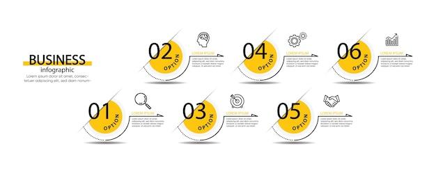 Презентация бизнес-инфографики шаблон