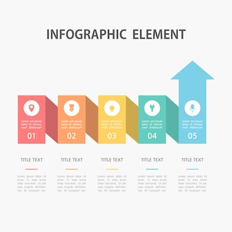 Presentation business infographic template.