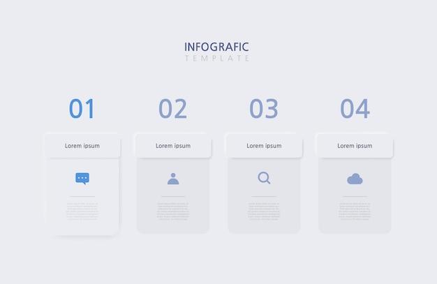 Presentation business infographics template