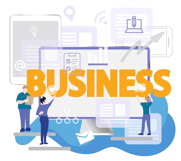 Presentation business with computer devices