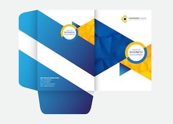 Presentation Folder Design Folder Template