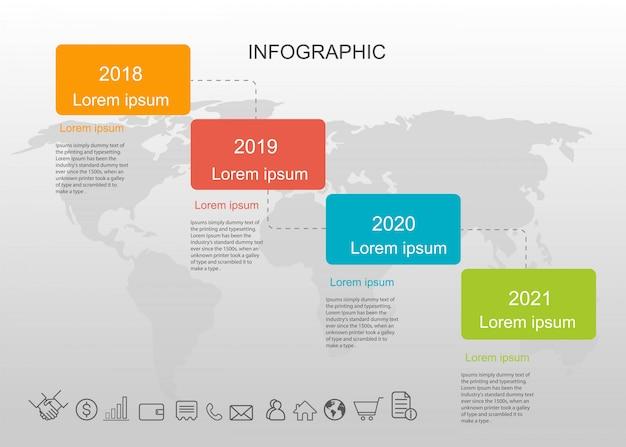 Presentation infographic creative.