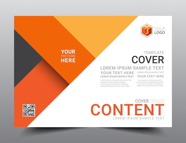Presentation layout design template.