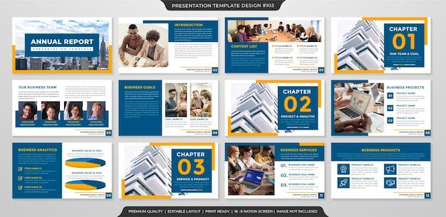 Шаблон страницы презентации премиум стиль