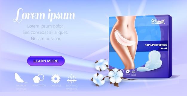 Presentation super slim fixable pads banner
