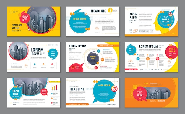 Presentation template collection