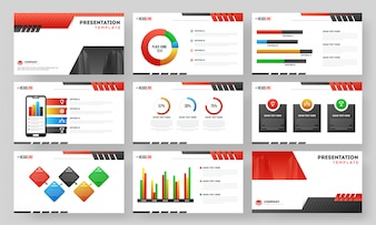 Presentation template layout