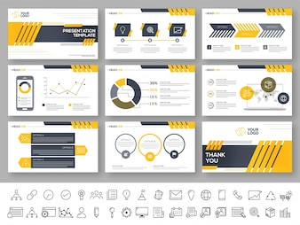 powerpoint presentation vectors photos and psd files free download