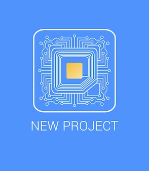 Presenting new project with micro nano chip