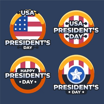 President's day badge collection