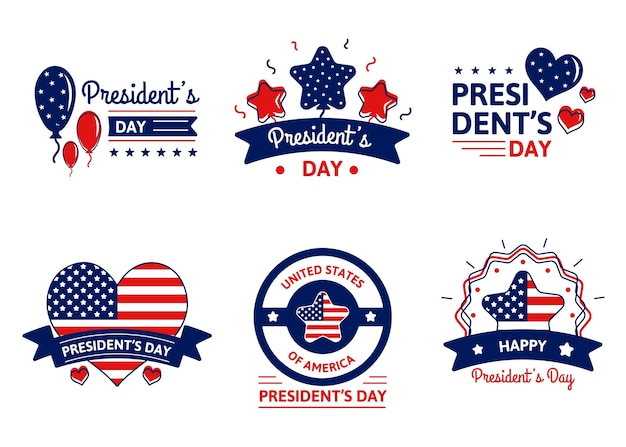 Pacchetto badge evento president's day