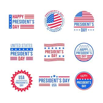 大統領の日のラベルパック