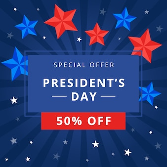 President's day with special offer