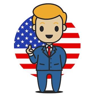 Президент трамп персонаж