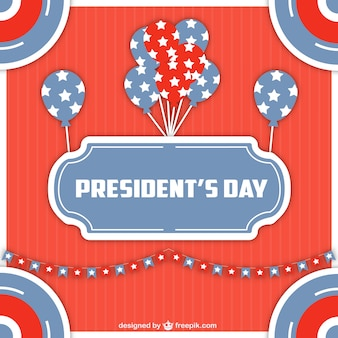 Президенты день фон