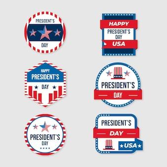 大統領誕生日バッジコレクション