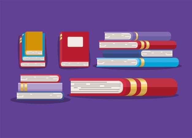 Pretty books design