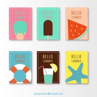 Pretty cards for summer