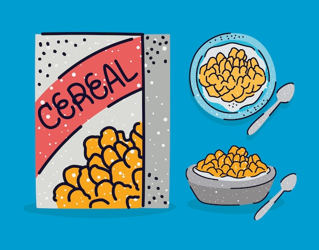 Pretty cereal items