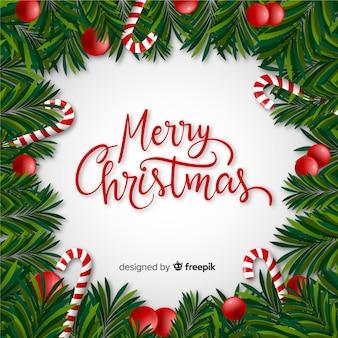 예쁜 크리스마스 배경