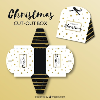 Pretty christmas cut-out