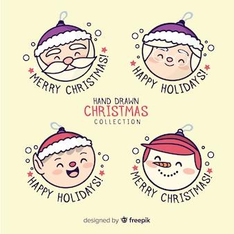 Pretty christmas elements