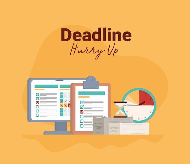 Pretty deadline poster