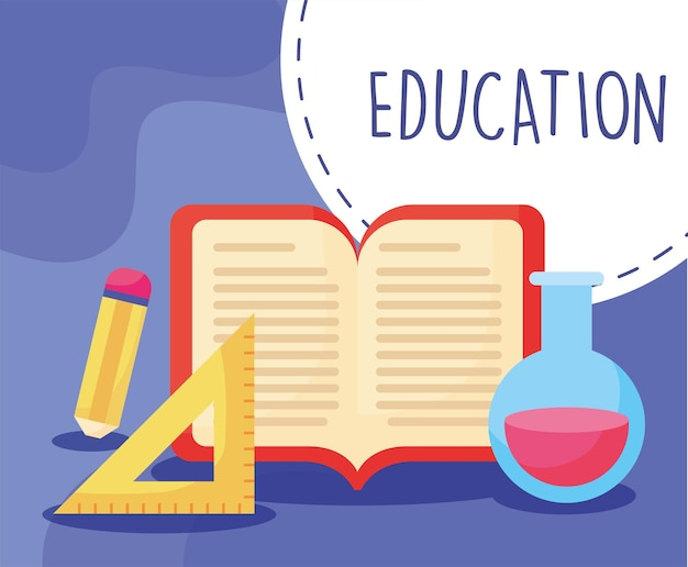 Симпатичный образовательный плакат
