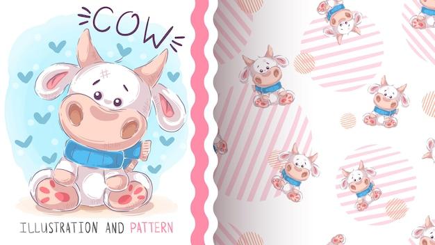 Pretty love cow