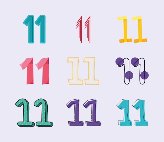 예쁜 숫자 11