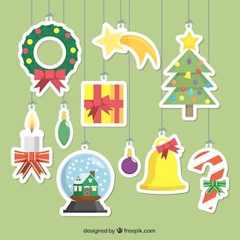 Довольно украшения для рождественской елки