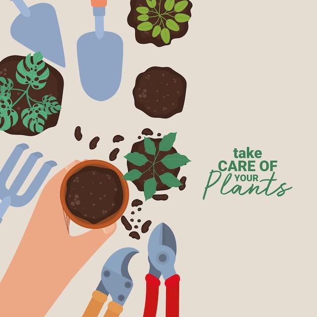 Pretty plant poster