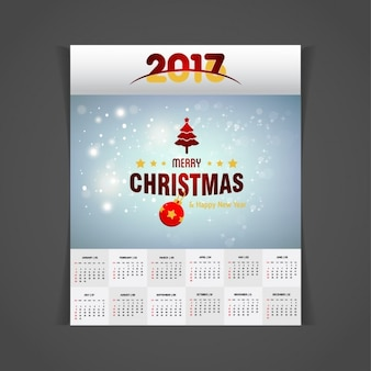 Pretty shiny christmas calendar 2017