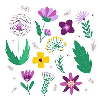 Довольно весенний цветочный набор