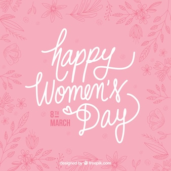 Pretty vintage woman day background