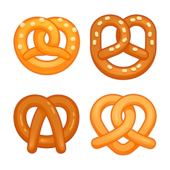 Pretzel icon set