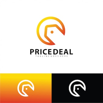 Price deal logo template