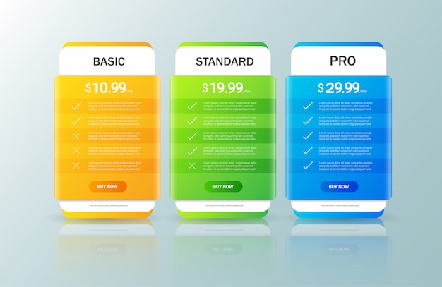 Pricing plan collection